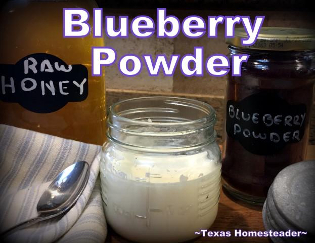 Raw Powders