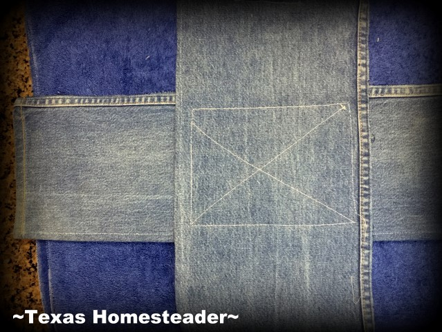 How To Make A Denim Dish-Carrier Using Old Jeans - ~Texas