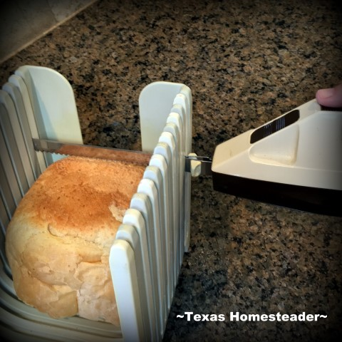 I always have homemade bread ready for my egg salad. #TexasHomesteader