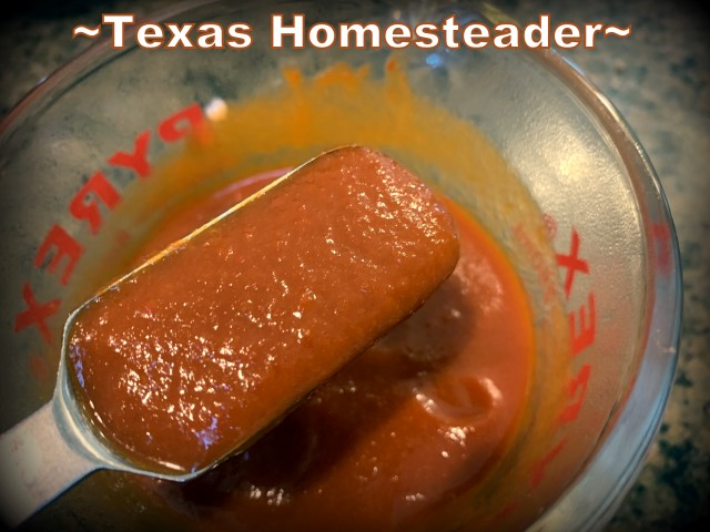 Making the roja pepper sauce. It's time consuming to make homemade tamales. But it's very easy. Come see my step-by-step directions complete with photos and recipe. #TexasHomesteader