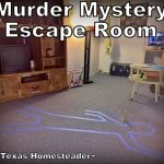 Escape Room Challenge. We opted for an experience gifts over toys for our grandchildren at Christmas. Come see examples of the fun times we've spent with them. #TexasHomesteader