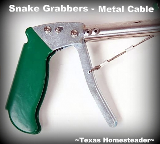 "Snake grabber handle.. Easily capture and relocate a snake, but do it safely. We've found the 47"" snake grabber to be the best tool to relocate snakes safely. #TexasHomesteader"