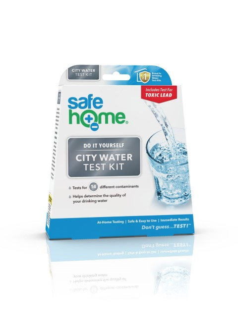 Safe Home Water Testing Kit for treated water - city or county. #TexasHomesteader