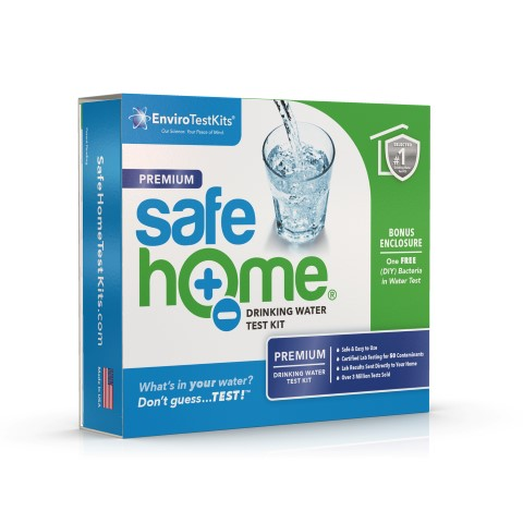 Safe Home Premium water testing kit - lab-tested & reported. #TexasHomesteader