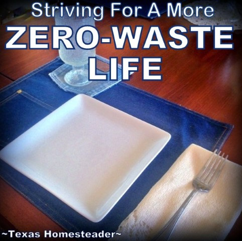 Real plates and flatware makes even a simple meal feel more special. #TexasHomesteader